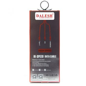 3 in 1 Hi speed data kabel Wit dalesh