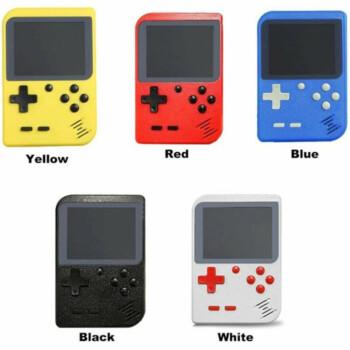 8 BIT Classic Mini Game Console Blauw Voor jong en oud