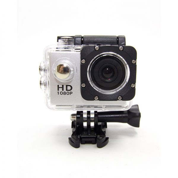 Sports Action Camera 1080P Zilver