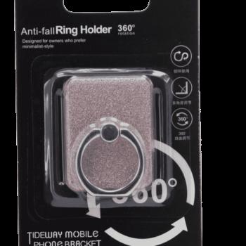 Anti-fall Ring Holder Roze (Glitter)