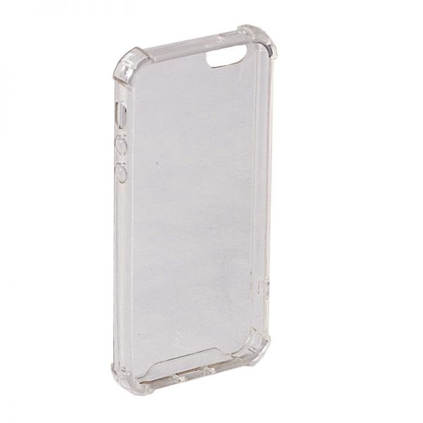 Apple iPhone 6(S) Antishock Hoesje - Transparant