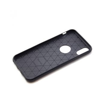 Apple iPhone X/XS Soft Siliconen Renax Hoesje - Zwart