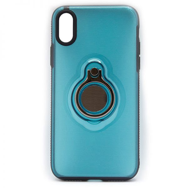 Apple iPhone X/XS  Backcover - Blauw