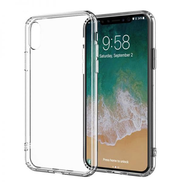 Apple iPhone X/XS Antishock Hoesje - Transparant