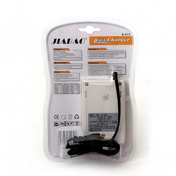 Batterijen Oplader, Battery Charger, Geschikt voor AA Batterijen