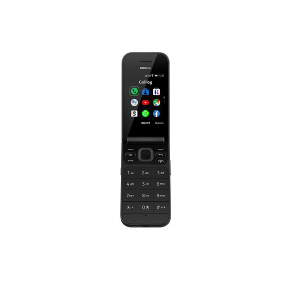 Nokia 2720 Senioren Kleptelefoon - Dual Sim - Zwart