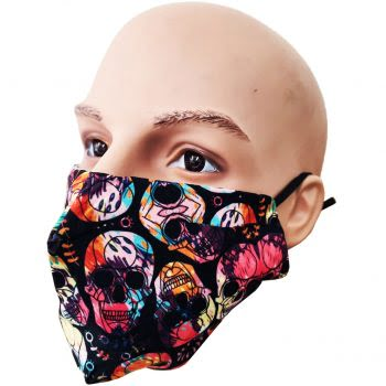Fashion Mondkapje | Uitwasbaar | Skelet gekleurd | Uitstekende Bescherming