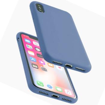 Apple iPhone 11 Soft Siliconen Hoesje - Donkerblauw